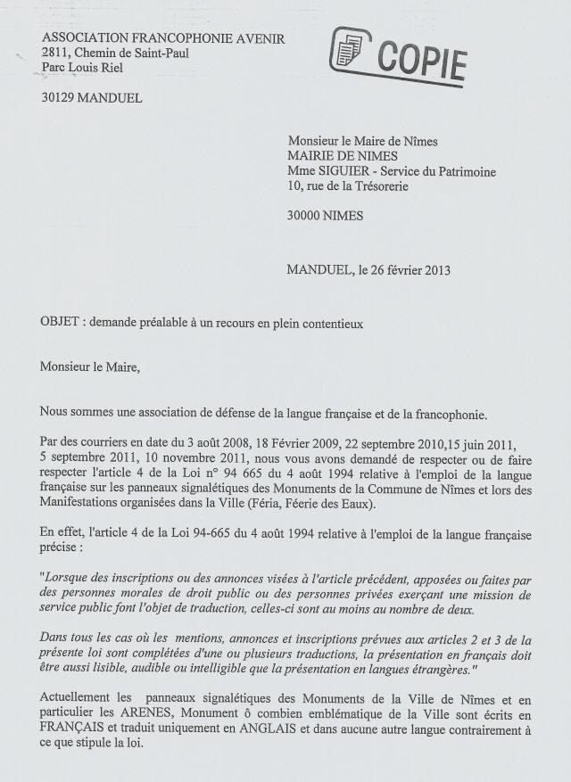 Jean Paul Fournier Maire De Nîmes Et Le Bilinguisme
