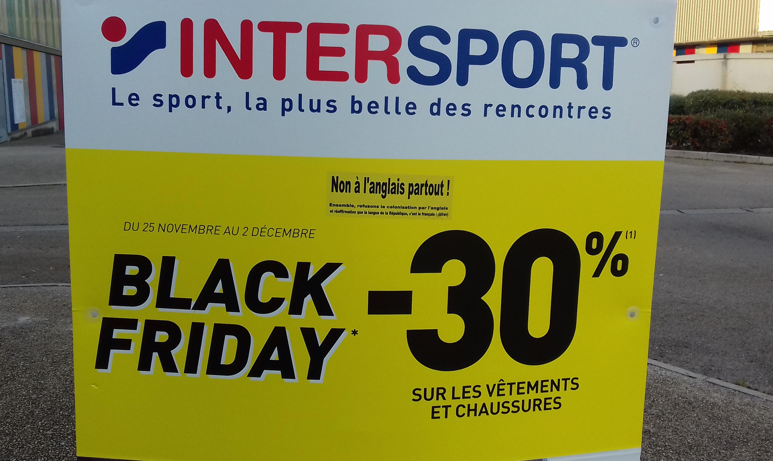 InterSport, les promotions, la publicité
