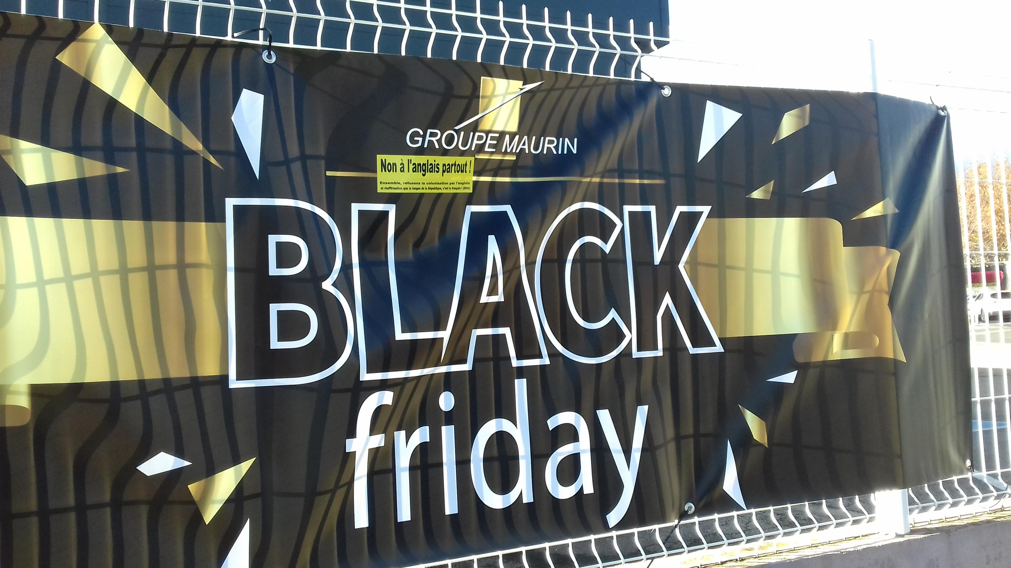 Le Groupe Maurin et le Black Friday