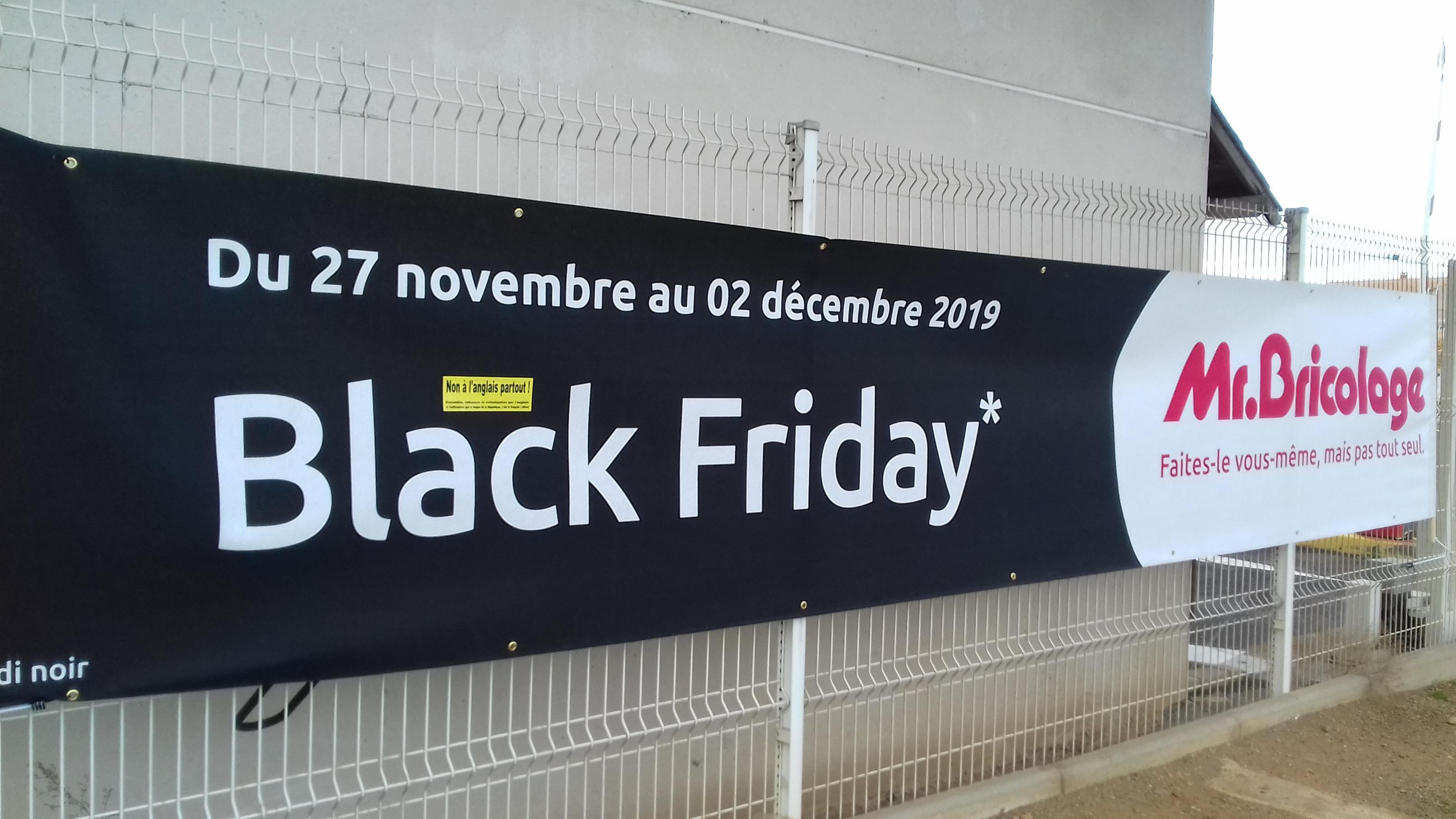 Monsieur Bricolage et le Black Friday