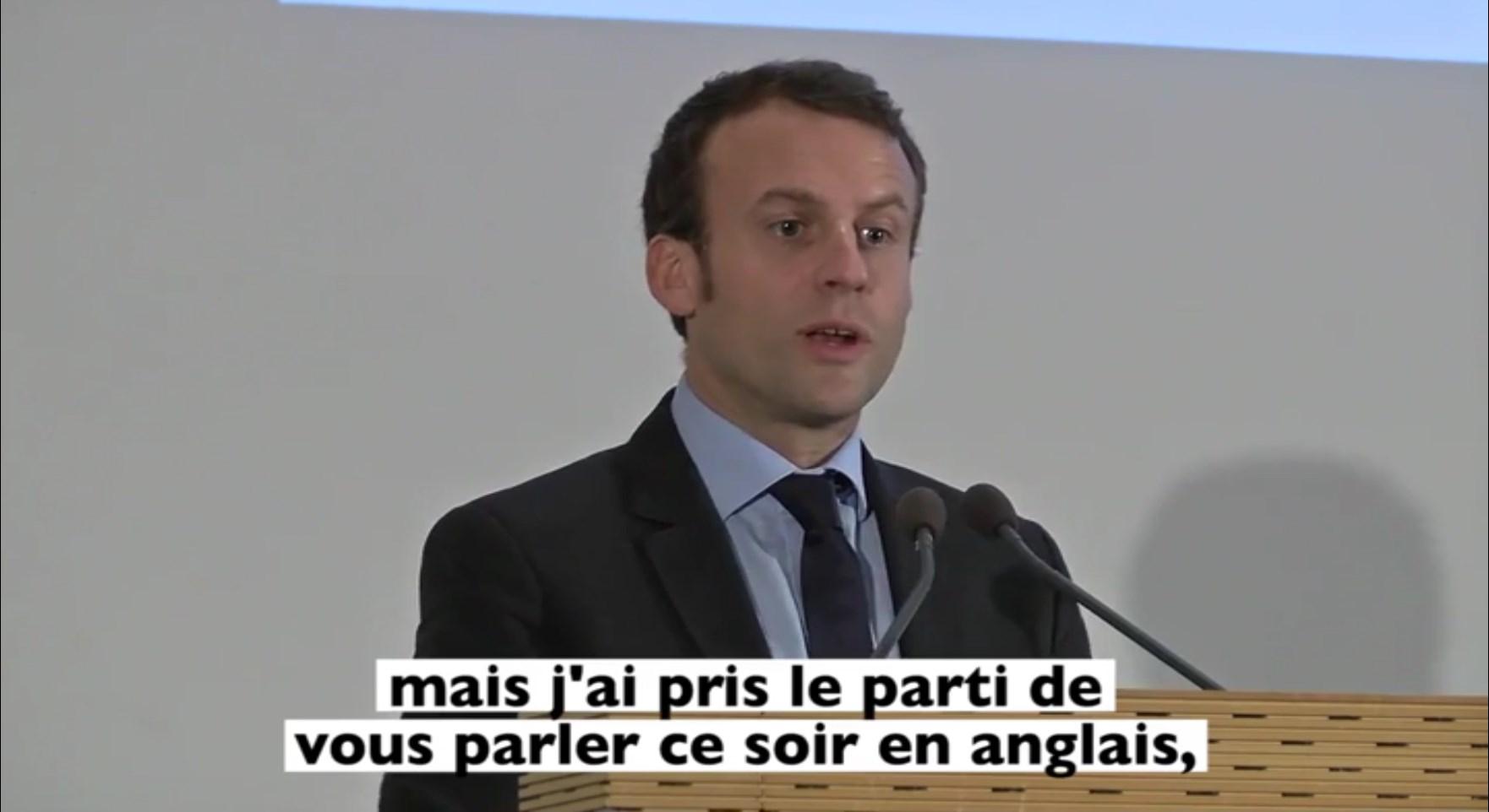 """Résultat de recherche d'images pour """"emmanuel macron franglais"""""""